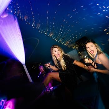Party girls dancing