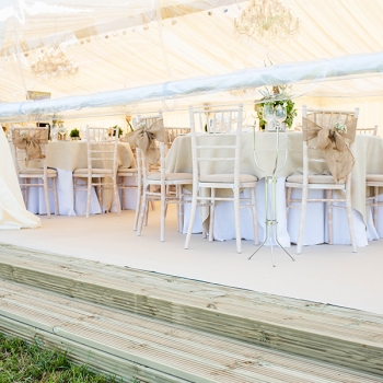 Marquee Decking