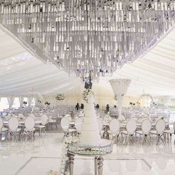 Luxury Asian wedding marquee