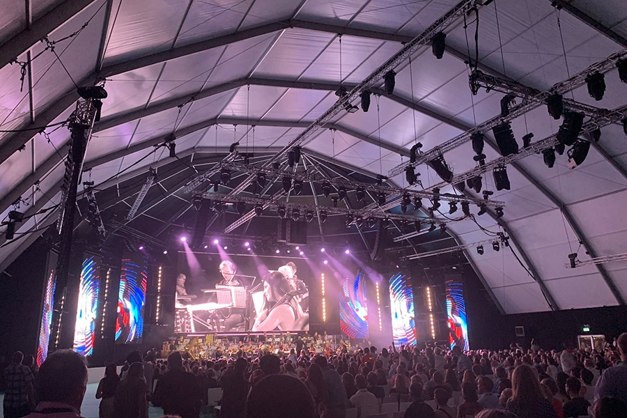 Igloo Marquee Structure