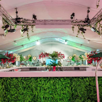 Luxury Party Marquee Holywood Theme