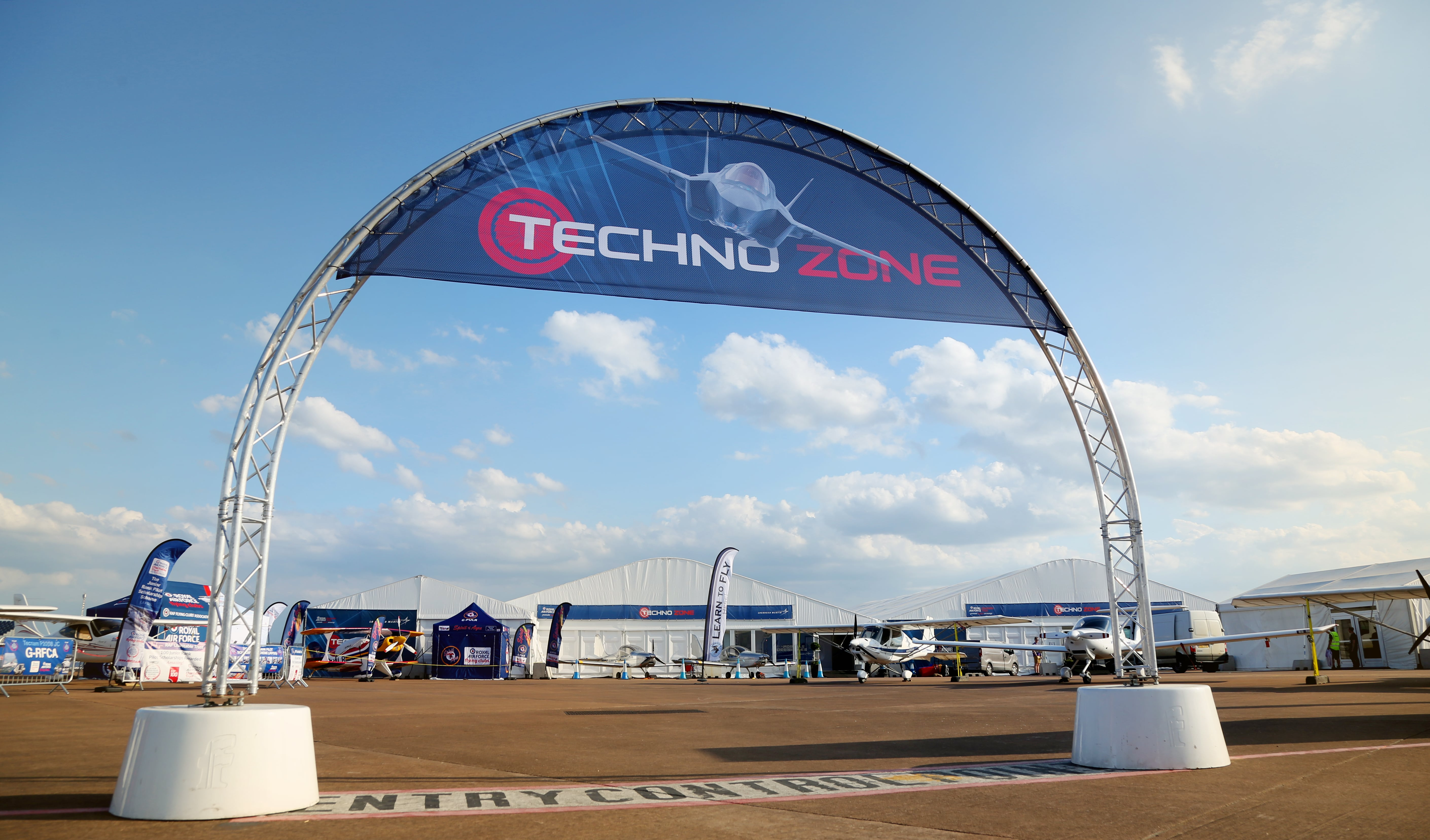 RIAT Marquee
