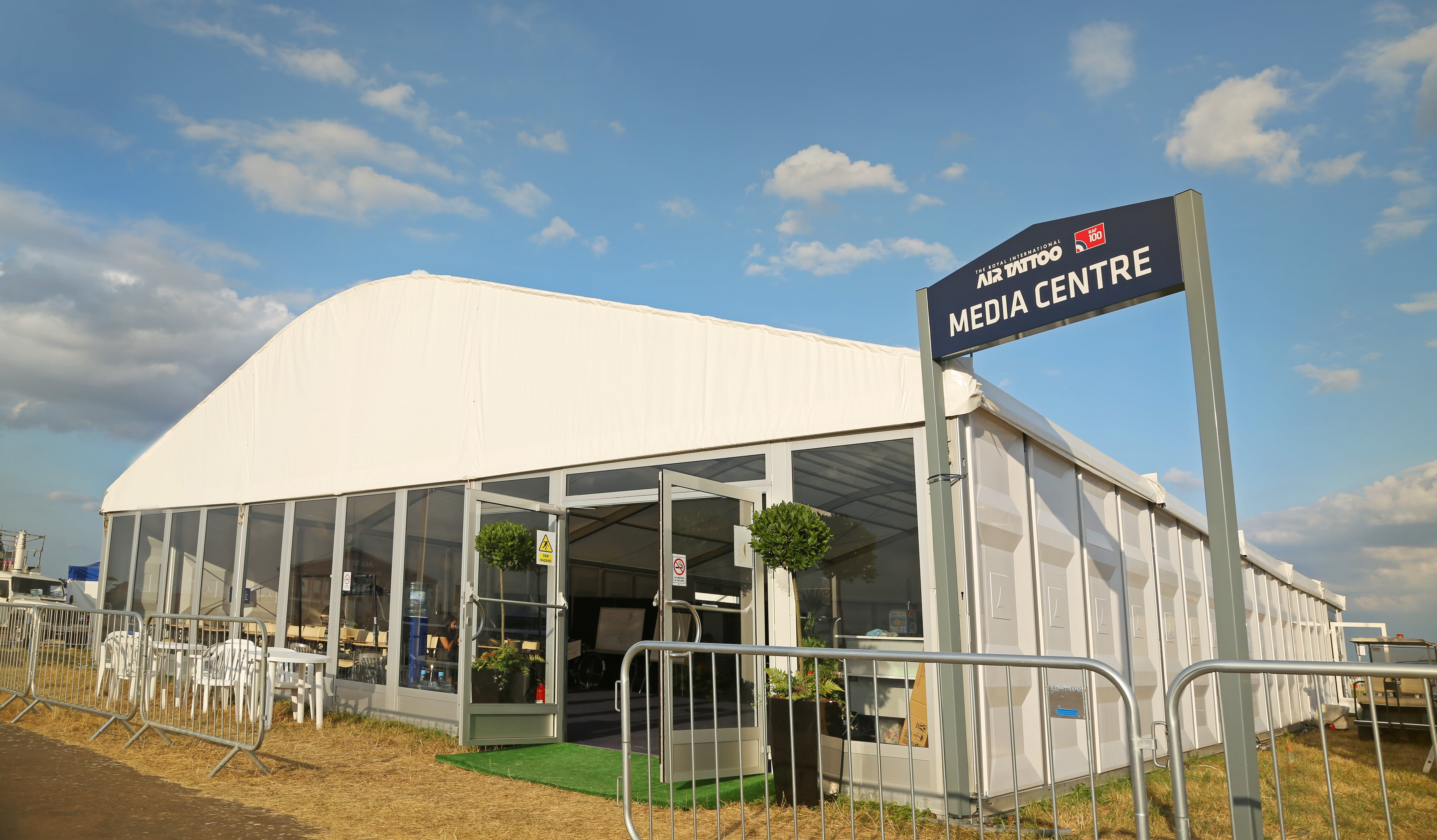 Exhibition Corporate Marquee