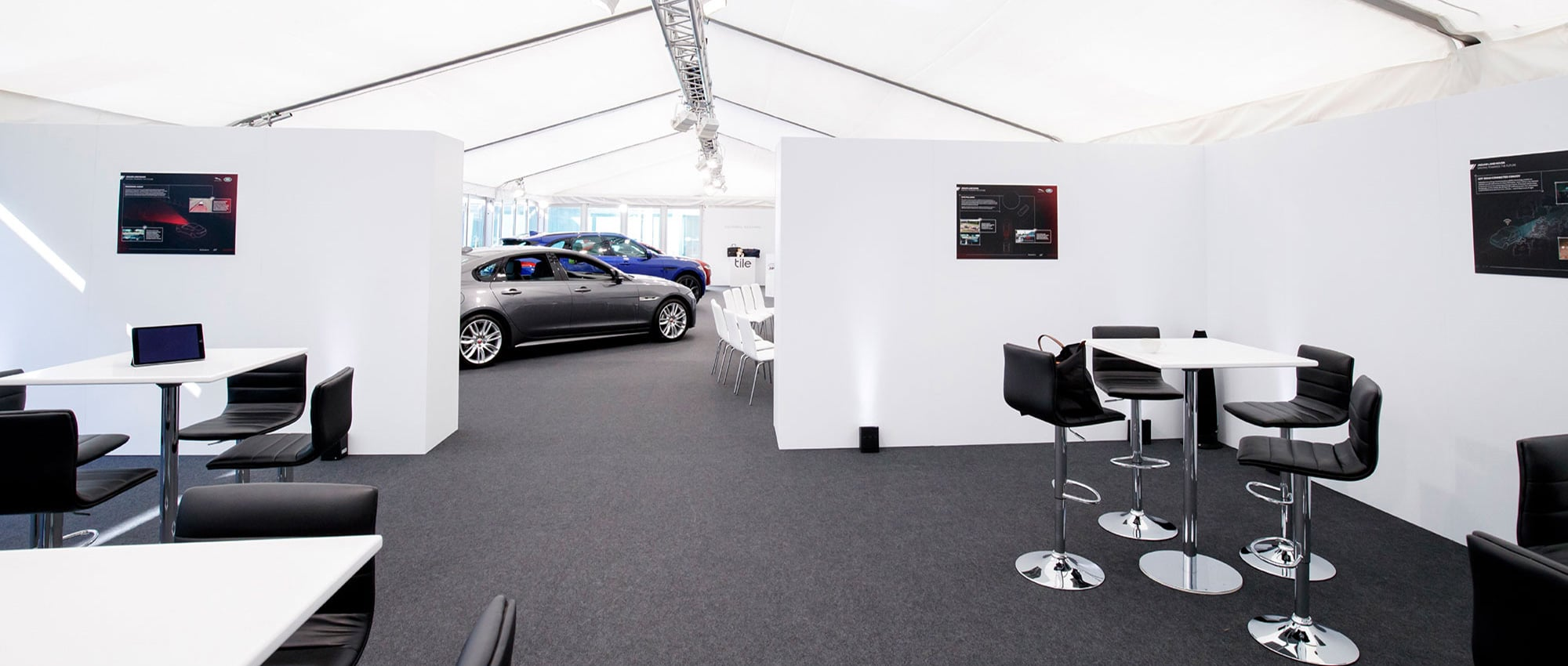 Jaguar Land Rover Marquee Event