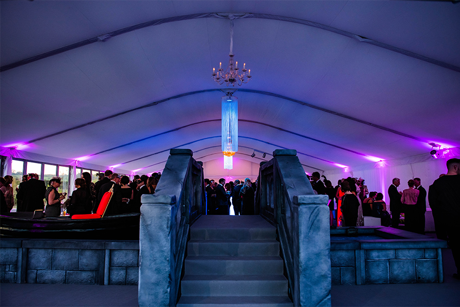 Party Bridge Marquee