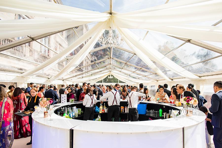 Wedding Marquee Ragley Hall