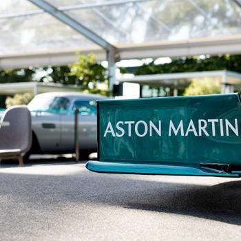 Aston Martin Hospitality Marquee