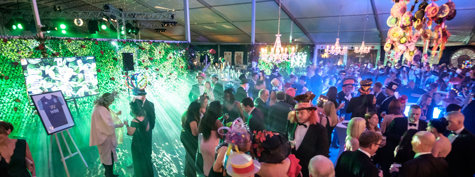 Party Marquee Charity Ball