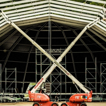 Festival Marquee and staging