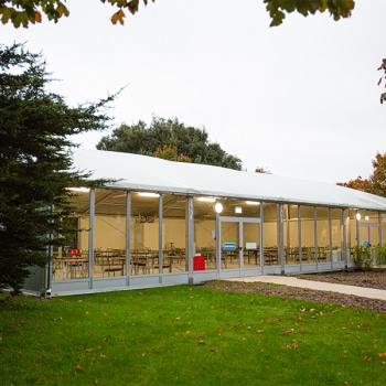 Temporary Canteen Marquee