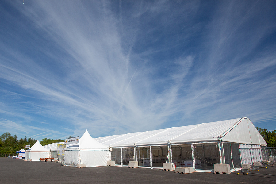 Catering Outside Marquee