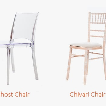 Chivari and Ghost Chair