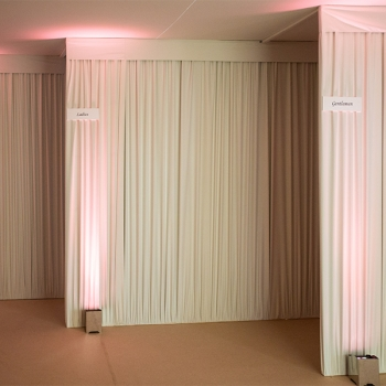 Marquees cloakroom