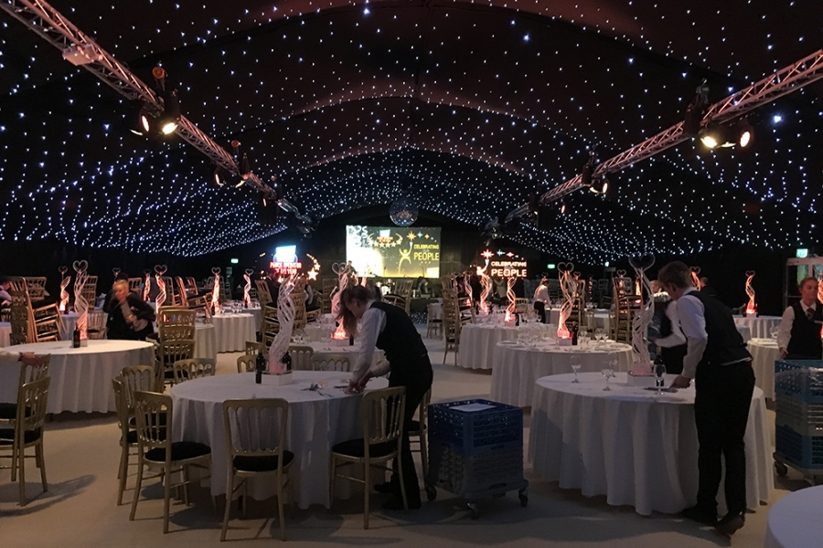 Corporate Conference Marquee Interior