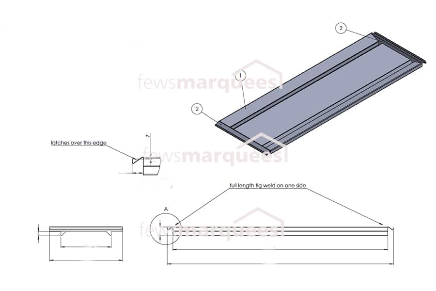 Stainless Steel Body Trays