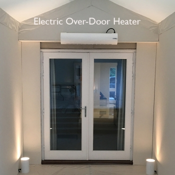Electric Over Door Heater