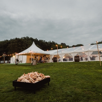 Rural Wedding Marquee