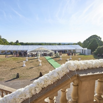 Wedding Marquee Hagley Hall
