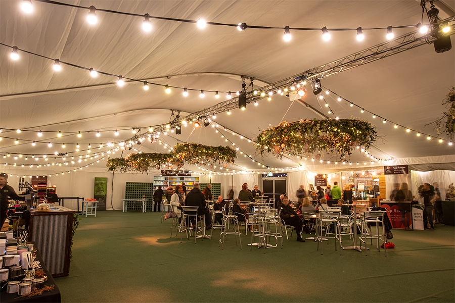 Hay Festival Marquee