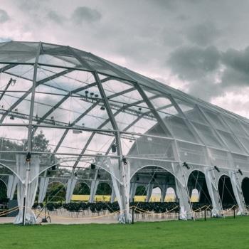 Igloo marquee structure at Edinburgh International Festival