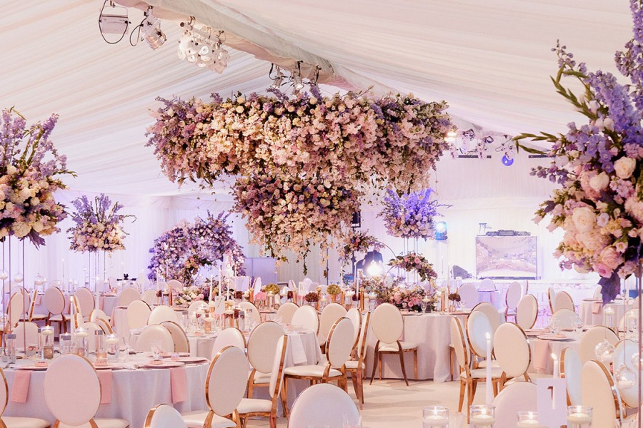 Floral Wedding Marquee