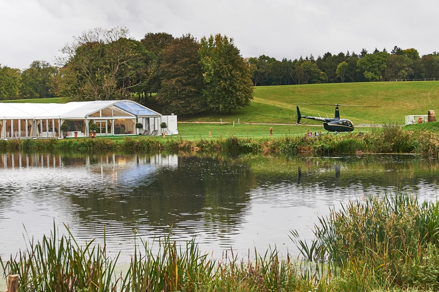 Luxury Wedding Marquee at Blenheim Palace