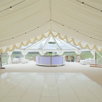 Rustic luxury marquee
