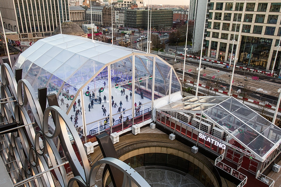 Marquees for Ice Rinks