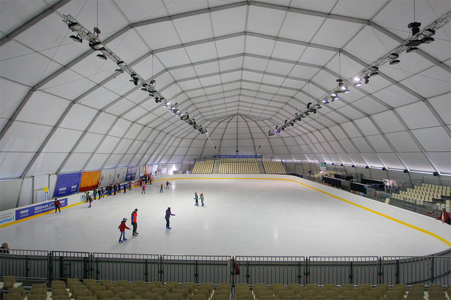 Marquees for Ice Rink Hire