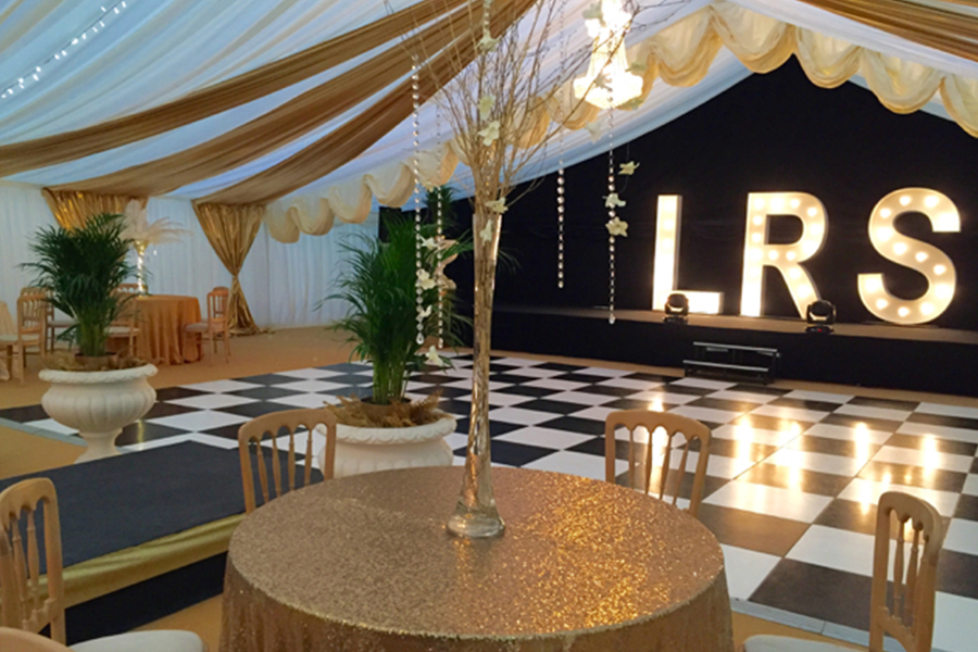 Christmas Party Marquee