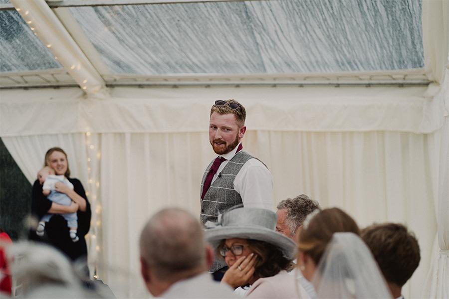 Rustic Wedding Marquee