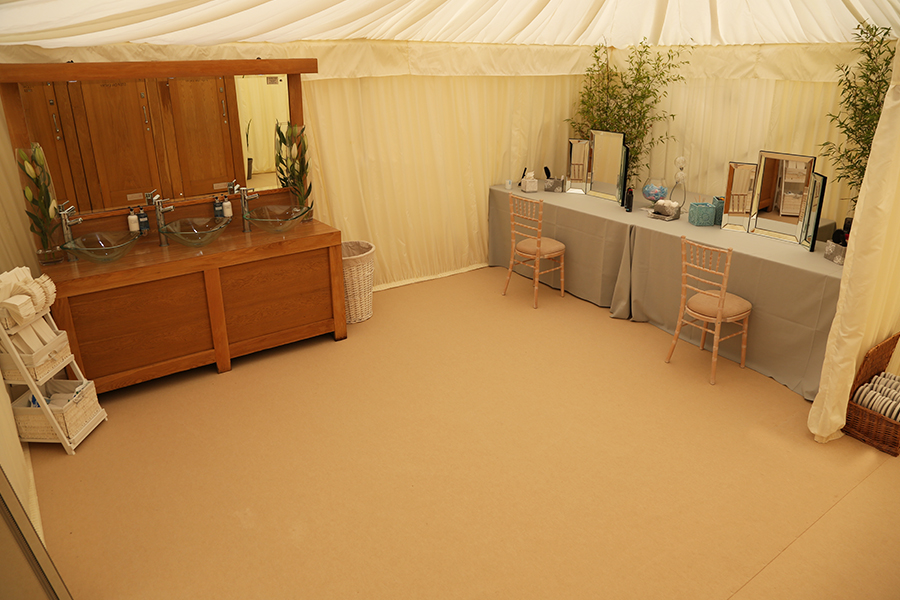 Wedding Marquee Bathroom