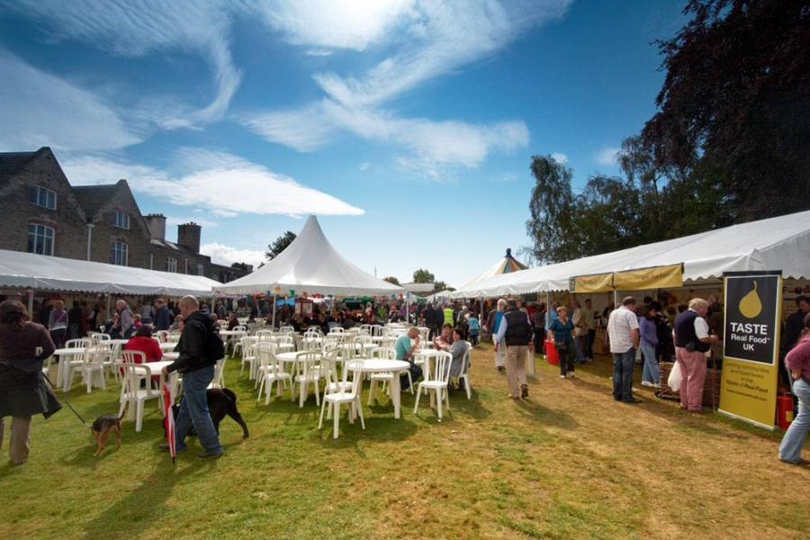 Festival Marquee Hire Ludlow Food Festival