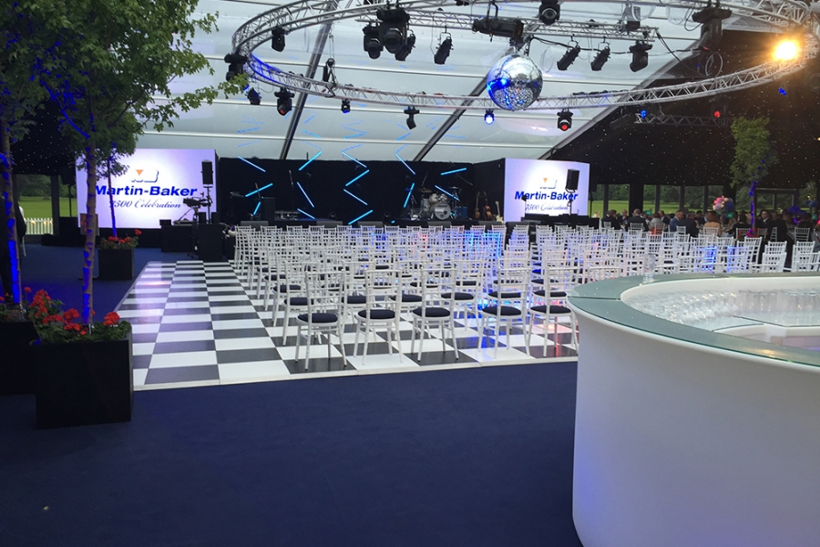 Corporate Conference Marquee MB Interior