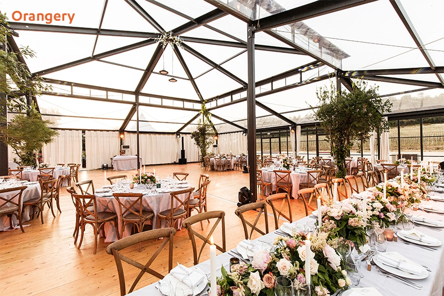 Orangery Extension Marquee