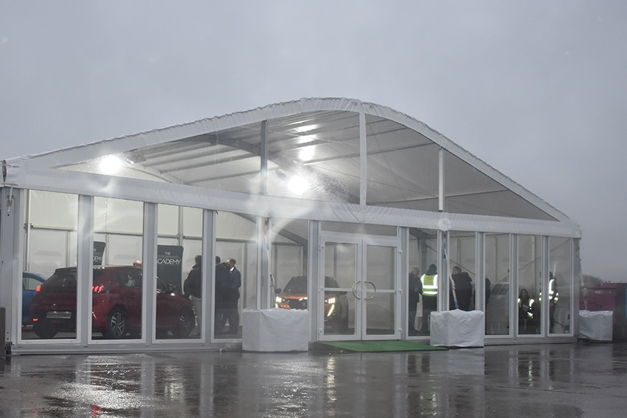 Car Launch Marquee