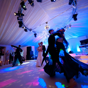 Wedding dance marquee