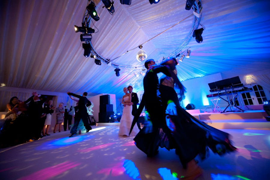 Wedding dance marquee
