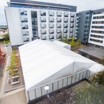 Plymouth University Temporary Structure Marquee