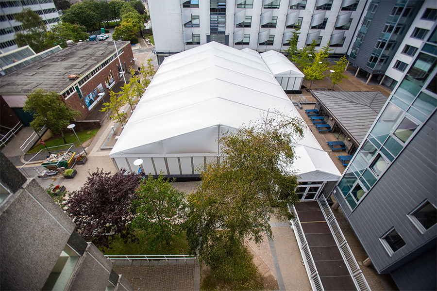 Plymouth University Temporary Structure