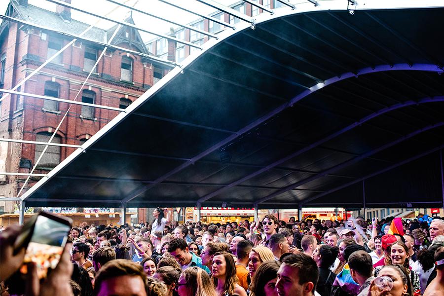 Pride Crowd