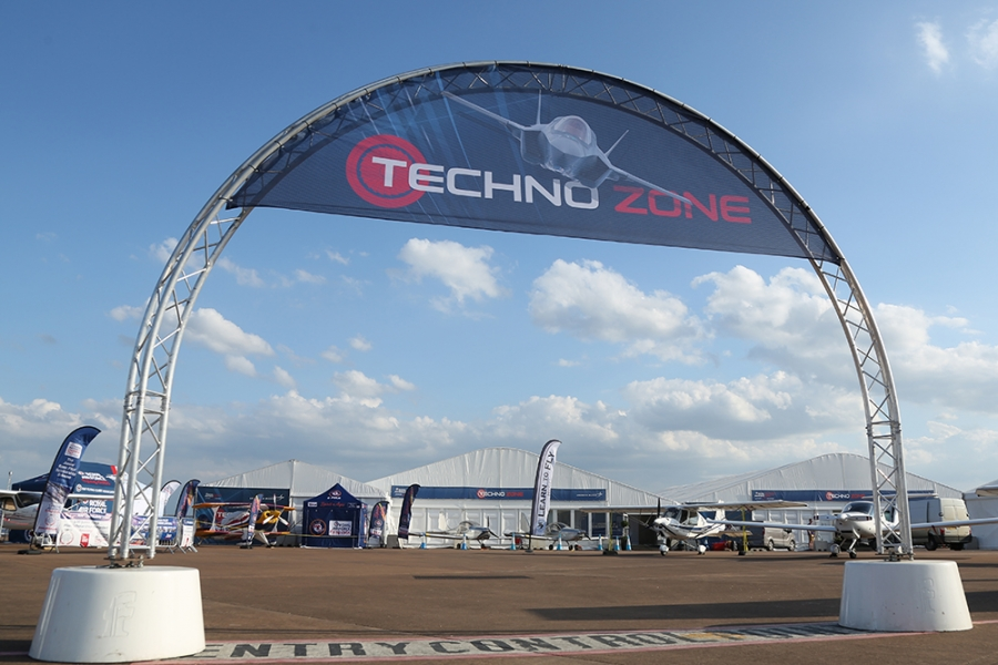 RIAT Techno Zone Entrance