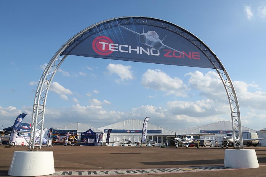 RIAT Techno Zone Entrance
