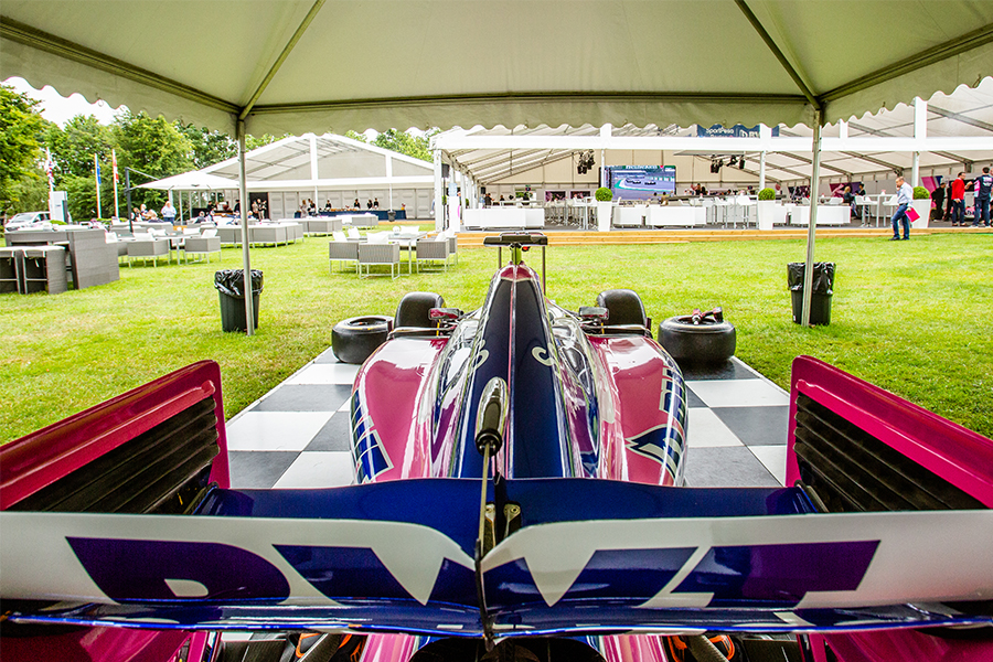 Racing Point F1 Team Marquee