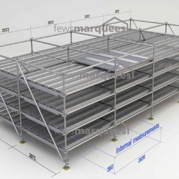 Mortuary Storage Racking