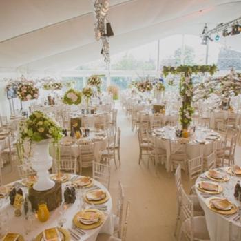 Wedding Marquee Secret Garden