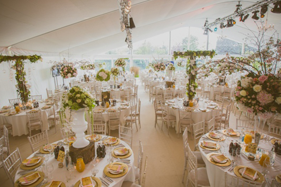 Wedding Marquee Secret Garden