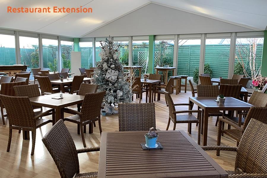 Restaurant Extension Marquee