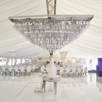 Large Luxury Asian Wedding Marquee