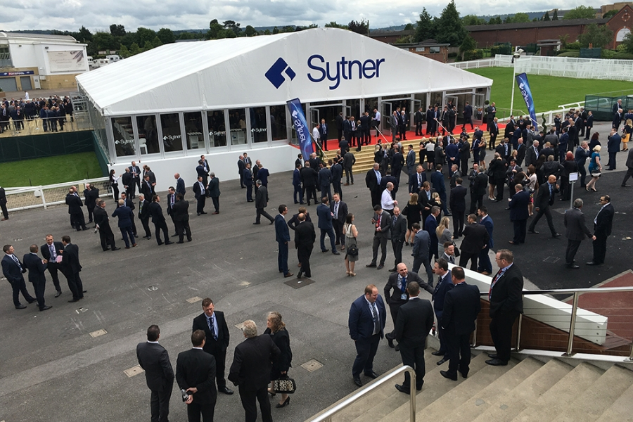 Corporate Conference Marquee for Sytner